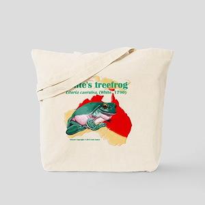 Litoria caerulea t-shirt Tote Bag