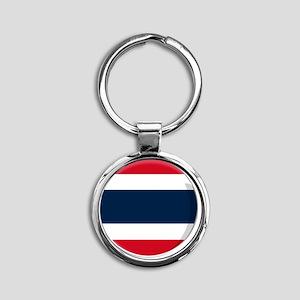 thailand Round Keychain