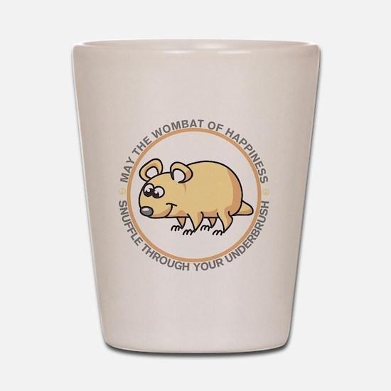 wombat2 Shot Glass