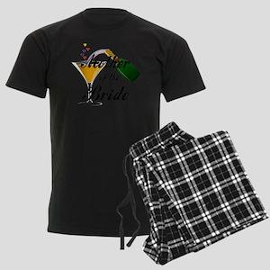 mother of bride black Men's Dark Pajamas