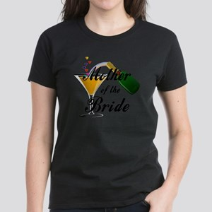 mother of bride black Women's Dark T-Shirt