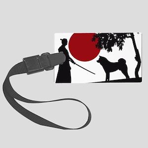 Akita Samurai Large Luggage Tag