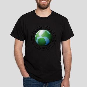 French-Forever-Print Dark T-Shirt
