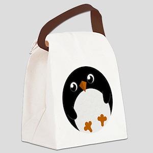 pinguuhrshirt Canvas Lunch Bag