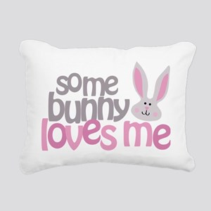 somebunny Rectangular Canvas Pillow