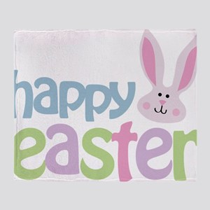 happyeaster Throw Blanket