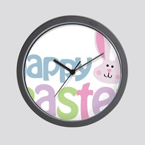 happyeaster Wall Clock