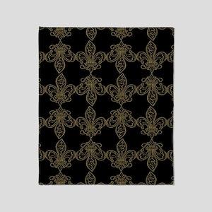 FleurDeLis_Pattern-2 Throw Blanket