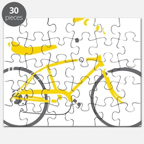 bananna bike dark Puzzle