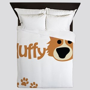 sofluffy_dark Queen Duvet