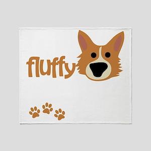 sofluffy_dark Throw Blanket