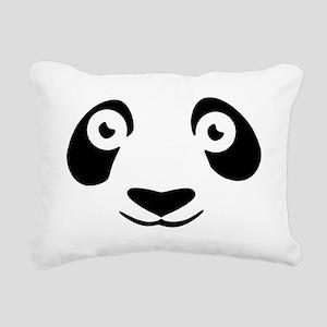 Panda Rectangular Canvas Pillow