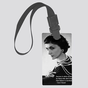 CocoChanel_Success3 Large Luggage Tag