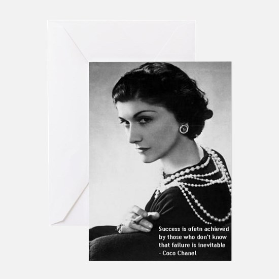 CocoChanel_Success3 Greeting Card