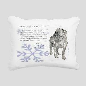 Jan Rectangular Canvas Pillow