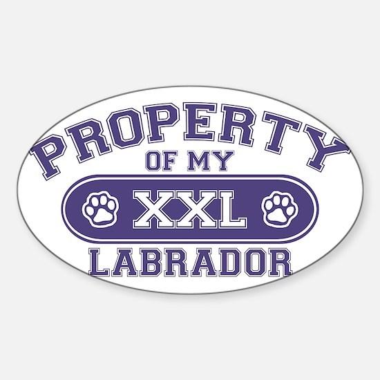 labradorproperty Sticker (Oval)