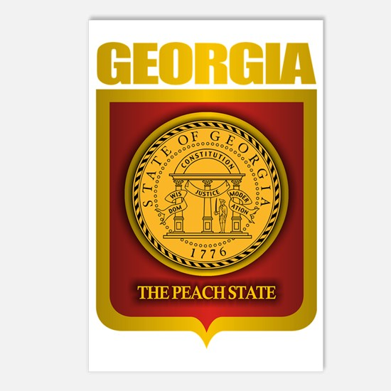 Georgia (Gold Label) Postcards (Package of 8)