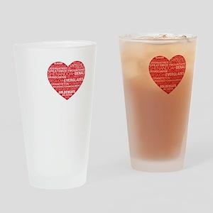 black_tee Drinking Glass
