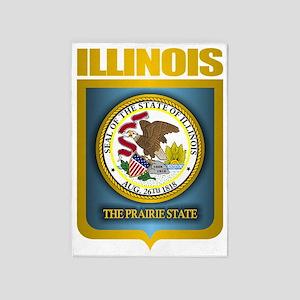 Illinois (Gold Label) 5'x7'Area Rug