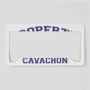 cavachonproperty License Plate Holder