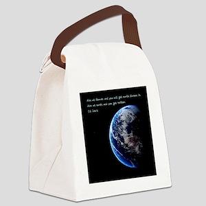 Aim at Heaven Canvas Lunch Bag