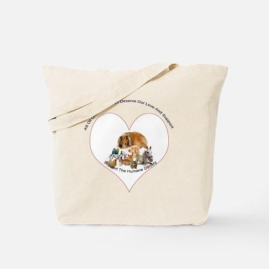 humane society trans copy Tote Bag