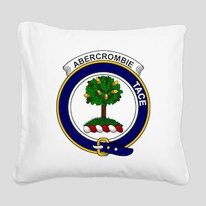 Abercrombie Clan Badge Square Canvas Pillow