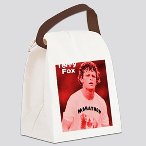 HeroTerryFox Canvas Lunch Bag