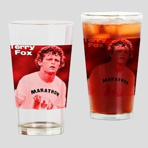 HeroTerryFox Drinking Glass