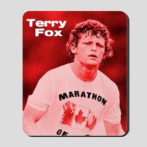 HeroTerryFox Mousepad