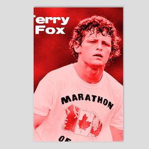 HeroTerryFox Postcards (Package of 8)
