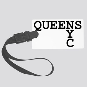 QUEENS NYC Large Luggage Tag