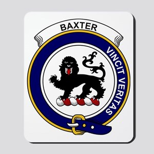 Baxter Clan Badge Mousepad