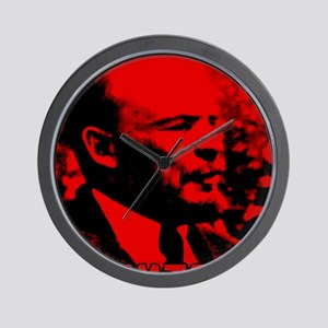Lenin Speech Wall Clock