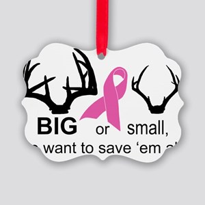 BIG or small racks Picture Ornament