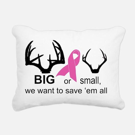 BIG or small racks Rectangular Canvas Pillow