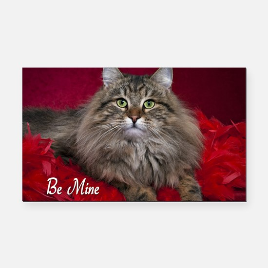 Valentines Day Card2 Rectangle Car Magnet