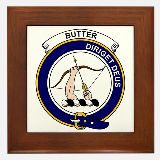 Butter Clan Badge Framed Tile