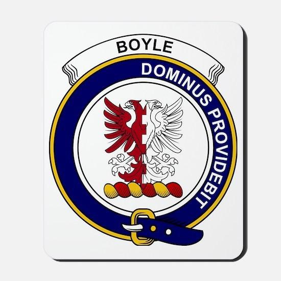 Boyle Clan Badge Mousepad