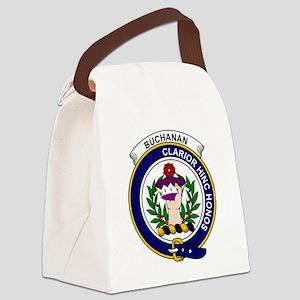 Buchanan Clan Badge Canvas Lunch Bag