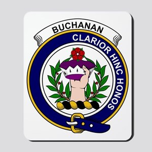Buchanan Clan Badge Mousepad