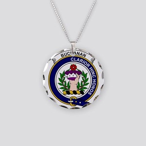 Buchanan Clan Badge Necklace Circle Charm