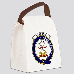 Cameron Clan Badge Canvas Lunch Bag