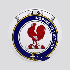 Currie (or Curry) Clan Badge Round Ornament