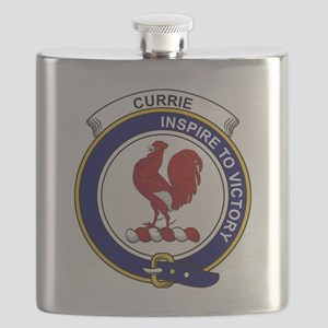 Currie (or Curry) Clan Badge Flask