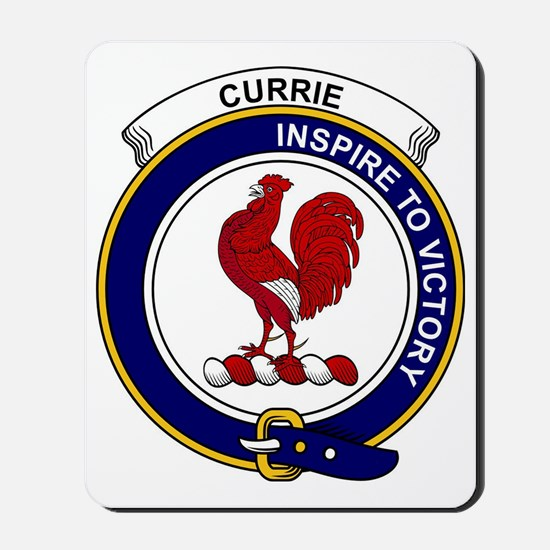 Currie (or Curry) Clan Badge Mousepad