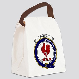 Currie (or Curry) Clan Badge Canvas Lunch Bag
