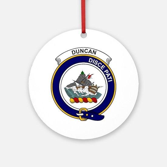Duncan II Clan Badge Round Ornament