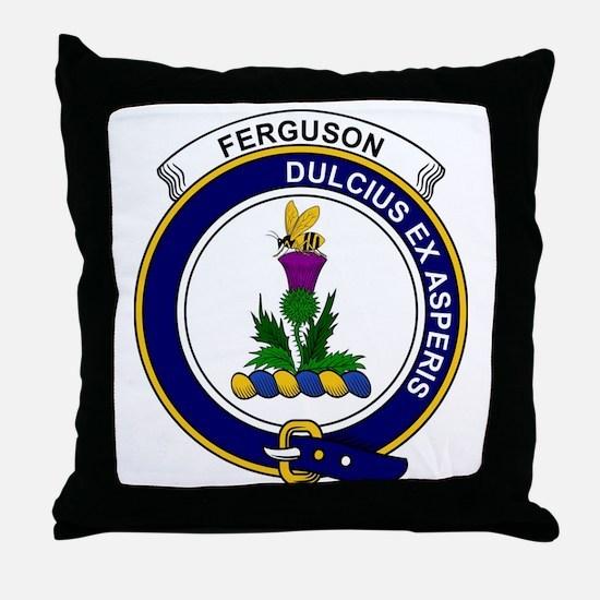 Ferguson Clan Badge Throw Pillow