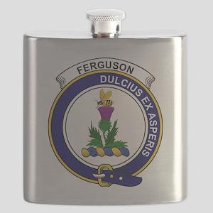 Ferguson Clan Badge Flask